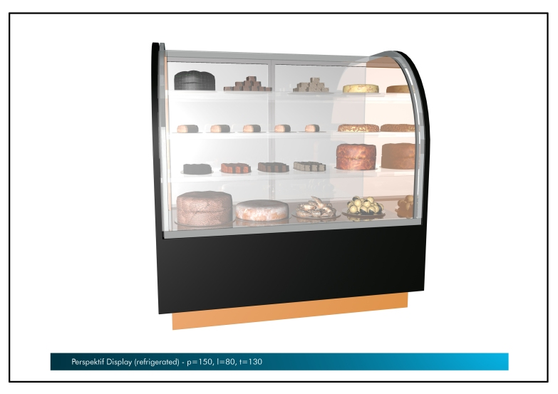 Perspektif Display Refrigerated